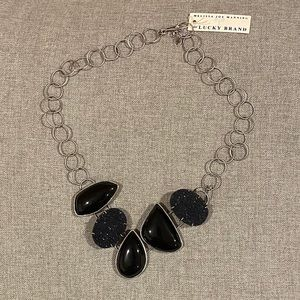 Melissa Joy Manning for Lucky Brand stone necklace